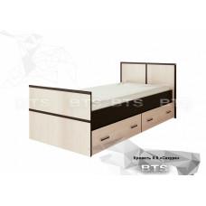 """Кровать """"Сакура"""" 0.9м"""