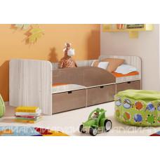 """Кровать """"Бриз-3"""" квадрат"""