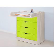 """Пеленальный стол """"Бриз-3"""" волна"""