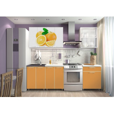 "Кухня ""Апельсин"" 1.8м"