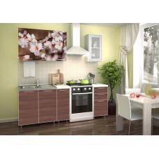 """Кухня """"Яблоневый цвет"""" 1.5м"""